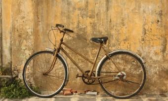 Bici estacionada