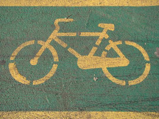 Reparar parte de bicicleta vintage